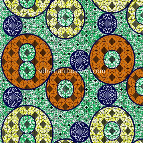 Cotton Wax Printing Fabric