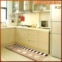 Tapetes de cozinha de poliéster decorativos