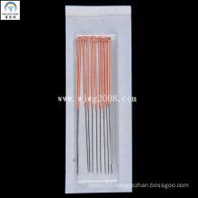 Acupuncture Needles with Copper Handle (AN010-1) (with one empty tube)