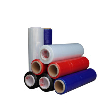 Super clear pvc cling film china stretch film Transparent PVC/PE Shrink  Customized Pallet Stretch Film Plastic Wrapping