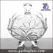 Clear Glass Candy Jar (GB1831SYC)