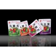 Bolsa de embalagem retrortable de alimentos vegetais de plástico