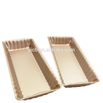 Gold Rectangle Tart Cake Pie Pan Bakeware