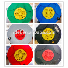High Quality 4 Socket-outlets European Type Electric Extension Cable Reel