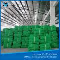 red de seguridad de construcción negra y verde