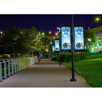Display a LED P6 Street lamp