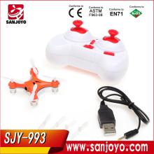 Quadcopter rotatif 3D quadcopter 2.4g 4ch 6 axes quadcopter drone HJ993