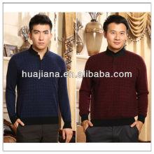 fábrica masculina de suéter de cashmere