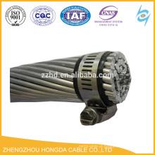 O aço de fio de alumínio do condutor de ACSR reforçou o GOST desencapado 839-80 do cabo da CA do condutor