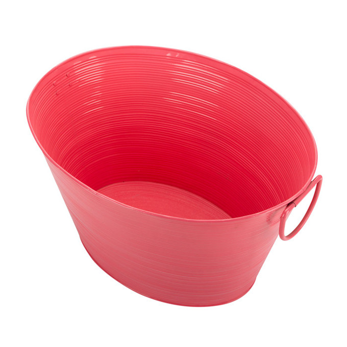 Pink Pinterest Steel Beverage Tub