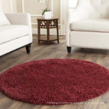 Absorbent bath rug without rubber backing non-slip rug
