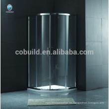 K-556 Round ducha deslizante con marco de ducha cabina de ducha independiente