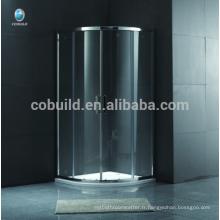 K-556 Round Salle de douche coulissante avec cabine de douche à cadre sur pied