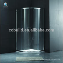 K-556 Round Sliding shower room with tray frame free standing shower enclosure