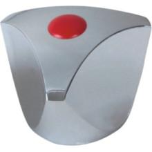 Poignée de robinet en plastique ABS avec finition chromée (JY-3001)
