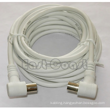 90 degree tv cable