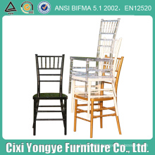 Stackable Plastic Resin Tiffany Chair for Events