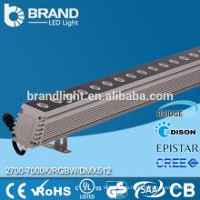 72W RGBW Wall Washer DMX512 Настенная стиральная машина LED Light AC220V Изменение цвета