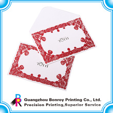 Offset paper beautiful greeting card envelopes for Christmas