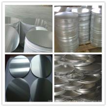 1060/1070 H18 Círculo de alumínio para utensílios de cozinha