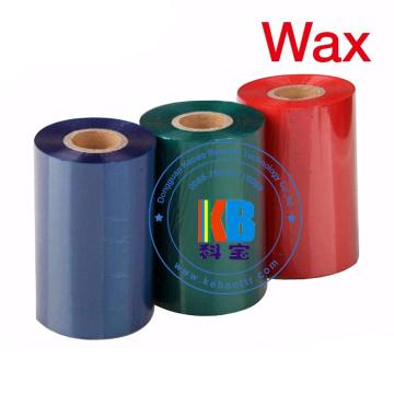 Thermal Transfer Printer Ribbon Wax Barcode Ribbon 110mm*300m