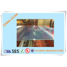 Hoja de PVC transparente rígida para la formación de vacío