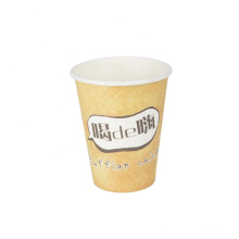 Top Sale Factory Sale Disposable Paper Coffee Cups Custom printed single wall paper cup