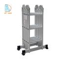 Escalera de aluminio EN131 fábrica ANSI SGS CE