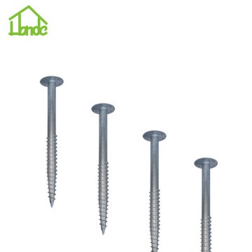 High Quality Welded Ground Screw Anchor Pile