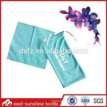 Напечатанный экран Настроить сумку из микрофибры солнцезащитных очков шнурков, сумку для очков с логотипом microfiber