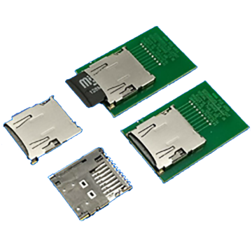 Micro SD CARD 1.68H Com Conector CD PIN