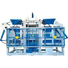 Machines à blocs intelligents à béton automatique à céréales QFT15