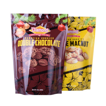 Stand up food packaging Plastik Aluminium Foil Ziplock Bag pouch