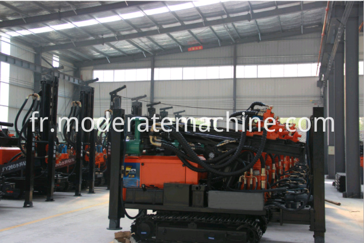 FY200 water well drilling rig 6