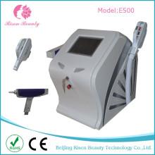 2 en 1 Sanlon Utiliser la machine à laser Multifonctionnelle pour cheveux et les tatouages Elight + ND Laser Machine YAG avec 2 poignées