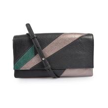 Cylinder Bag Camouflage Leather Case Crossbody Bag