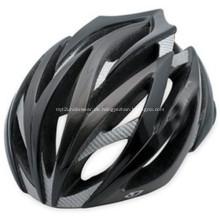 Mann-Radfahrer-Motorrad-Helm