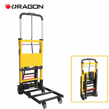 Folding hand truck electric stair climbing vehicle dolly cart for stairs
