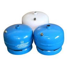 Tanque de gasolina e GPL gás cilindro de aço (AS-LPG-0.5KGA)