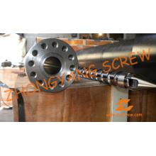Barril de tornillo de máquina de moldeo por inyección simple PP PE