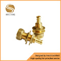 Water Nozzle Brass Joint Fitting Bibcock Brass Hose Fitting