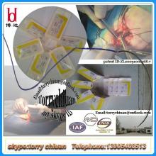 Souris chirurgical asorbable catgut plat avec aiguille