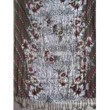 Printing wholesale viscose rayon scarf