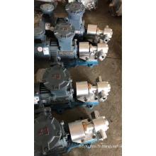 Pompe à engrenages de l'acier inoxydable 304 de KCB / pompe rotatoire à engrenages / pompe à huile de 1,5 pouce