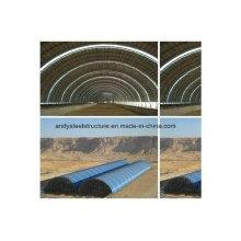 Vorgefertigte Stahl-Raumrahmen-Struktur für Trocken-Kohle-Schuppen