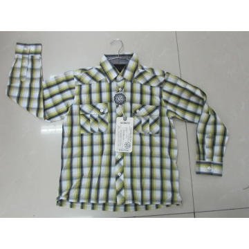 Herren Casual Cotton Print Shirts
