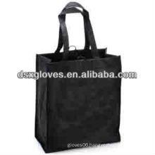 Black Cheap Wine Bags