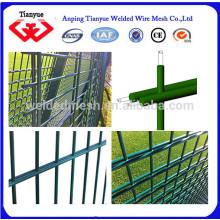 Billig PVC beschichtete doppelte Drahtzaun zum Verkauf
