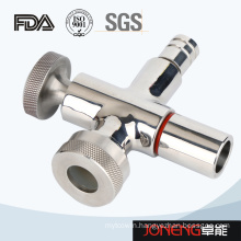 Stainless Steel Food Grade Clamped Level with Drain (JN-FT1003)