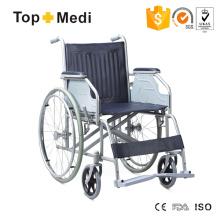Leichter Outdoor-Rollstuhl mit pulverbeschichtetem Stahlrahmen